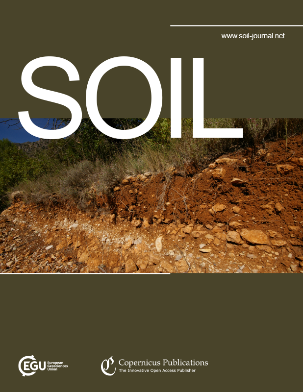 SOIL cover enlarged